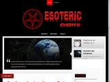 Un site internet qui traite de l'ésotérisme et des sciences occultes